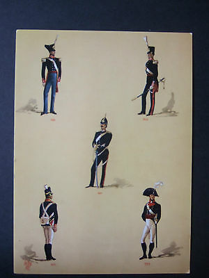 LARGE  MILITARY POSTCARD-OFFICERS OF THE ROYAL ARTILLERY