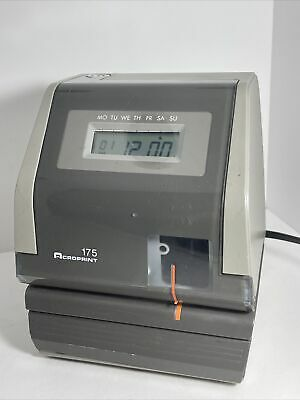 Acroprint 175 Electronic Digital Time Clock Recorder