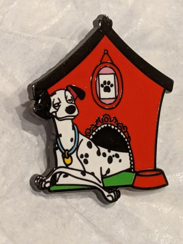 Loungefly Disney Dogs Blind Box Enamel Pin PONGO 101 Dalmatians Red Dog House