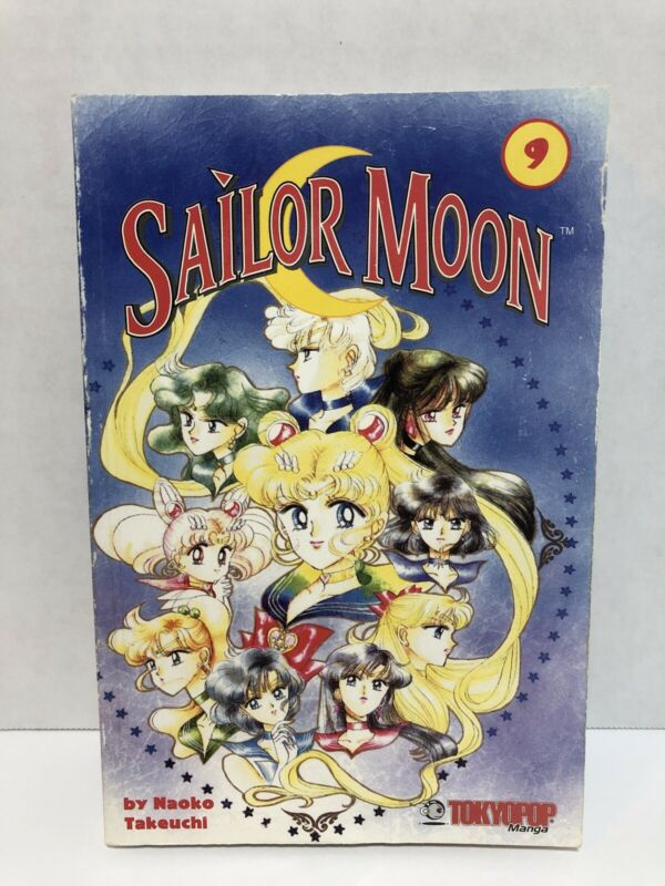 Sailor Moon Vol. 9 By Naoko Takeuchi Very Good
