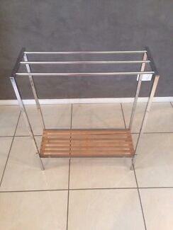 Towel rack with shelf Gunn Palmerston Area Preview