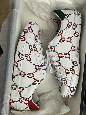 Gucci New Ace Traners Size 8