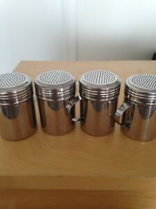 Brand New Stainless Steel Shakers