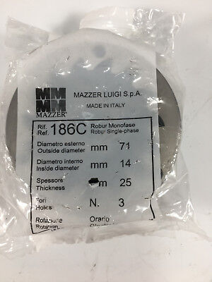 La Marzocco Mazzer Robur Kold 186c Conical 71mm Steel Replacement Grinder Burr