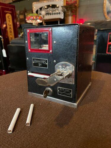 "1930 Silver Comet Cigarettes Vending Machine    ""WATCH VIDEO"""