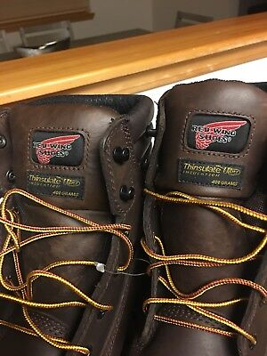 Work Boots, Red Wing brand, Electric hazard, waterproof, insulated