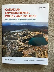 Canadian environmental policy and politics