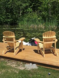 Hand made muskoka chairs $100 each