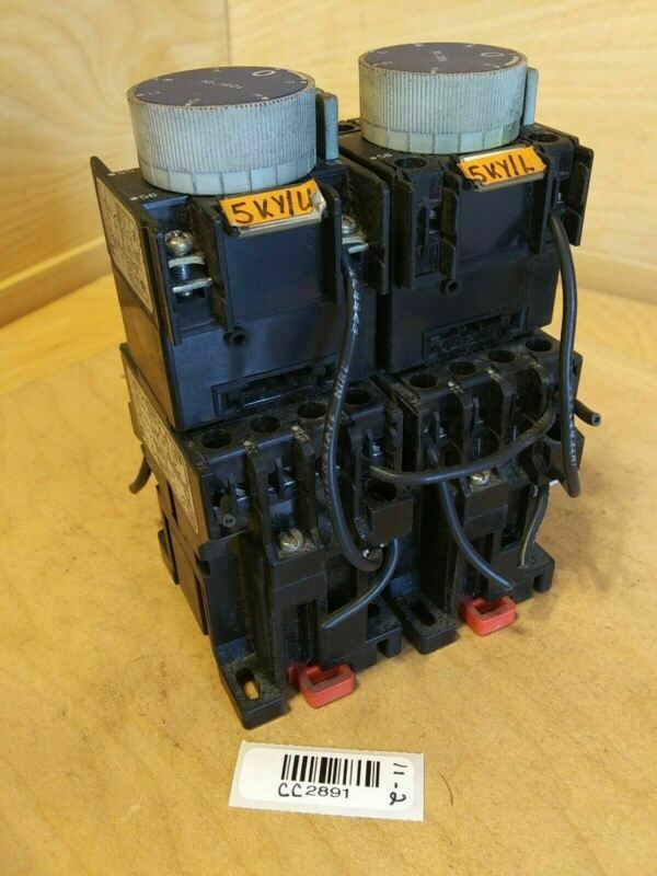 Telemecanique Contactor CA2-DN1229.A65 with Time Delay Relay LA2-D24