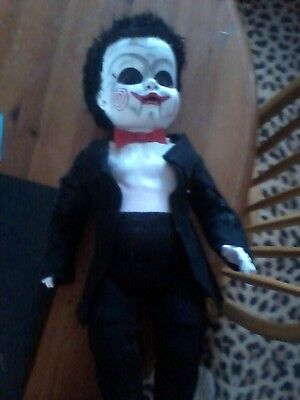 JIGSAW SAW PUPPET PLASTIC DOLL 21