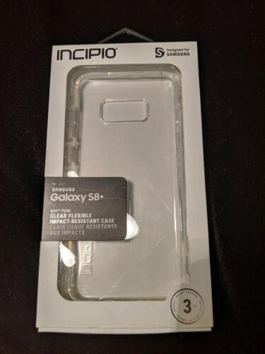 Incipio Samsung Galaxy S8+ PLUS Clear Phone Case NGP Pure Fl