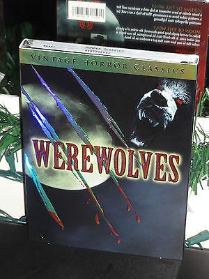 Werewolves: Vintage Horror Classics (DVD) Werewolf Vs. Vampire Women, BRAND NEW!