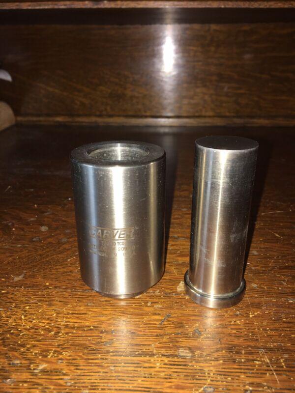 "Carver 2090-0 Cylinder, 39000 Lbs Maximum, 1-1/8"" Diameter Wabash In USA"