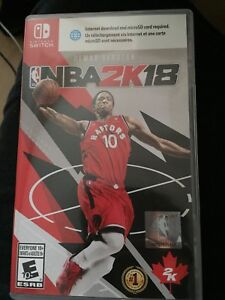 Used NBA 2K18 for switch