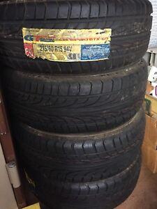 Tyres 215/60/15