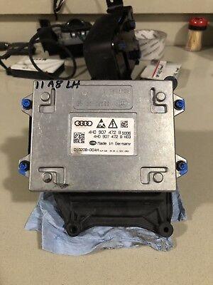 2011 Audi A8 Headlight Control Module LED 4H0907472B OEM