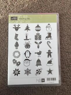Stamping Up Jolly Bingo Bits Rubber Stamp Set Cammeray North Sydney Area Preview