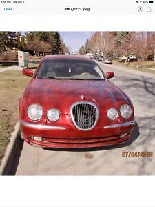 2000 Jaguar S Type sedan.