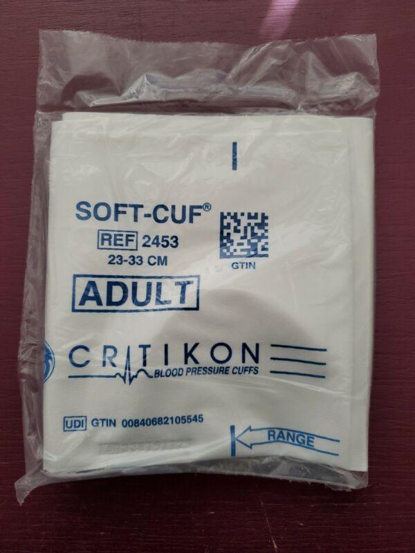 Lot of 20 - GE Critikon Blood Pressure Cuffs Adult Soft-Cuf REF 2453 23-33 CM