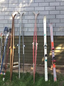 SKIS cross country, and downhill skis for sale