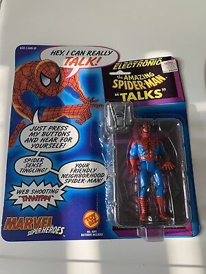 - 1991 Marvel Super Heroes Electronic Spider-Man Talking Action Figure
