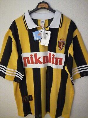 REAL ZARAGOZA 1996-1997 BNWT Pikolin camiseta shirt trikot maillot maglia adidas