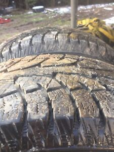 "Good used 18"" snow tires"
