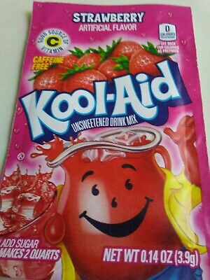 Kool-Aid Drink Mix Strawberry 10 Packets