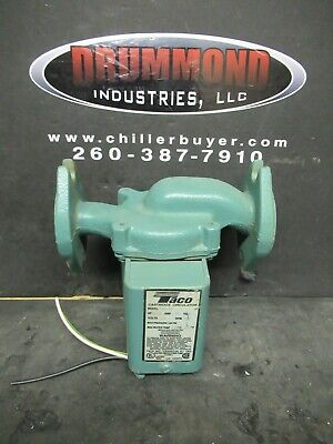 Taco 008-f6 Cast Iron Cartridge Circulator Flanged 125 Hp Pump Warranty