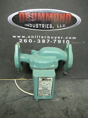 Taco 008-f6 Cast Iron Cartridge Circulator Flanged 125 Hp Pump Warranty