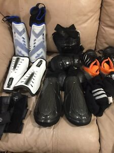 Soccer gear and cleats