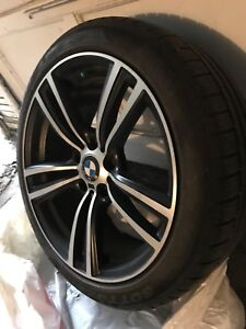 BMW WINTER TIRES AND MAGS