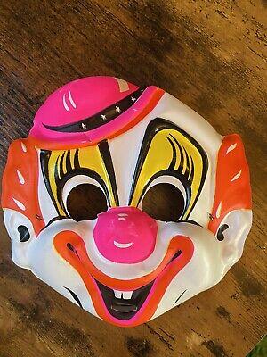 Vintage Circus Clown Halloween Costume Collegeville 458 Tiny Tots Original Box