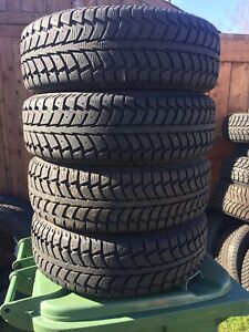 P205/55/16 inch Winter Tires on Rims / NEAR NEW / GOOD DEAL