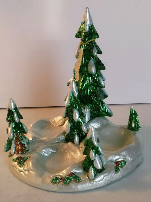 Vintage Waterford Holiday Heirloom Snowy Village Display Stand #123902