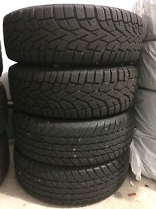 Winter tires on steel rims 185/65R14