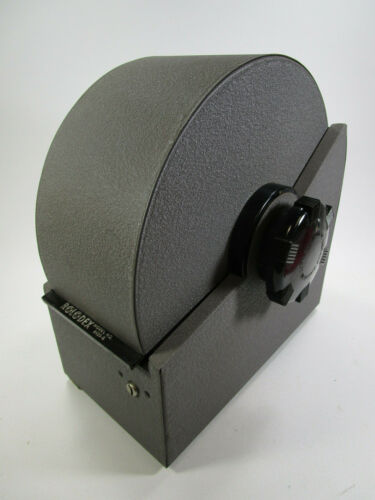 Vintage ROLODEX Metal Desk Rotary Card File 2400-S Large with Key