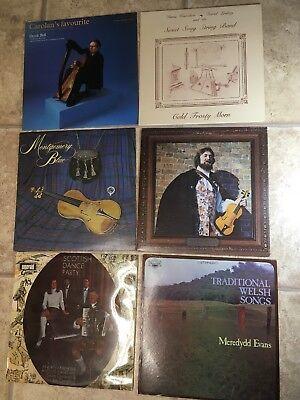 - LOT 6 LP Scottish, Irish, Welsh, Celtic, Appalachian Fiddle/Dulcimer Music