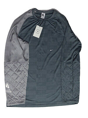 Nike x A Cold Wall Long Sleeve MENS Size MEDIUM Cool Grey Gunsmoke AQ0433-065