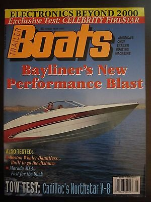 Trailer Boats Magazine May 1995 Bayliner's Performance Boston Whaler Marada E