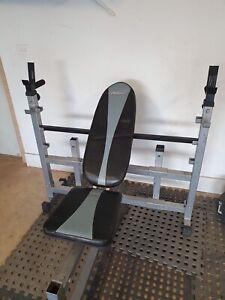 Avanti Adjustable Bench Press & Squat Rack