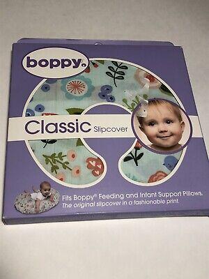 New Original Boppy Pillow Cover Slipcover Classic Fresh Flowers Nursing Support