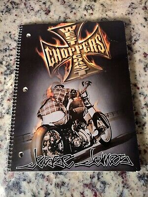 West Coast Choppers Jesse James Notebook