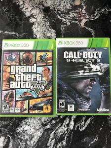 Grand Theft Auto V & Call of Duty Ghosts