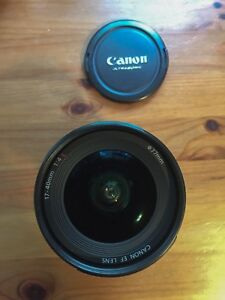 Canon 17-40 mm 1.4 L - EF Lens (with a free Canon 10D Body)