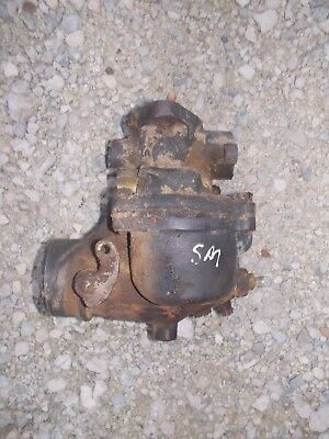 Farmall Super M Sm Mta Smta Tractor Original Ih Good Working Carburetor Assembly