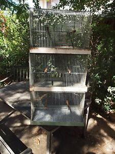 6 Used budgerigar all wire Breeding or Holding cages Tarragindi Brisbane South West Preview