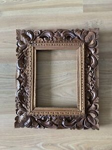 Wooden Carved Picture Frame