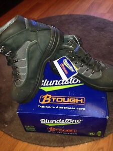 Blundstone steelcap new lace up boots Sz 11 Port Kennedy Rockingham Area Preview
