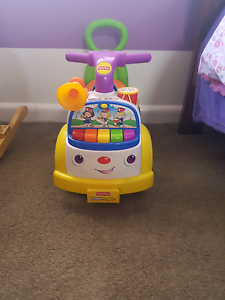 Fisher price little people push/ride car. Kyabram Campaspe Area Preview